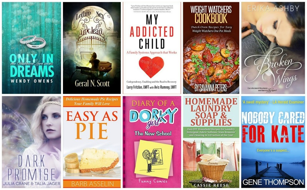 10 Free Kindle Books 9-30-15