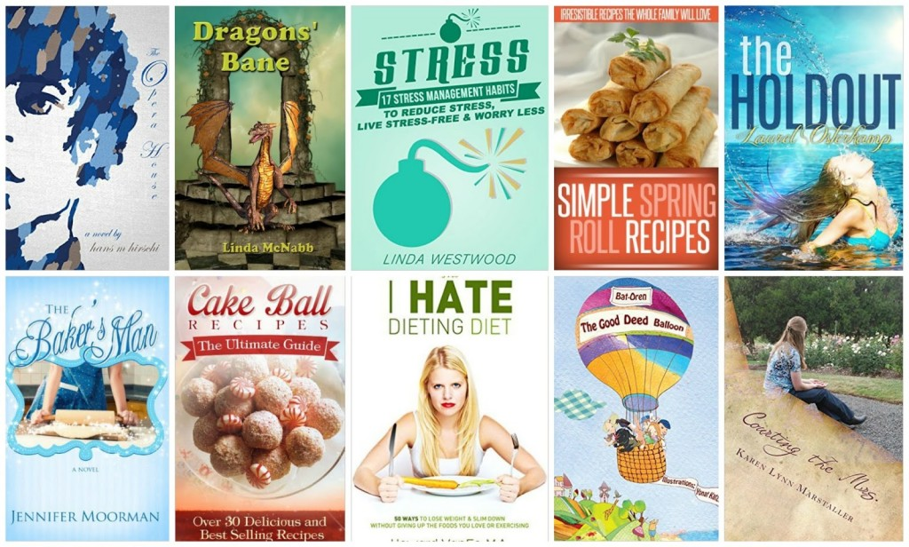 10 Free Kindle Books 9-5-15