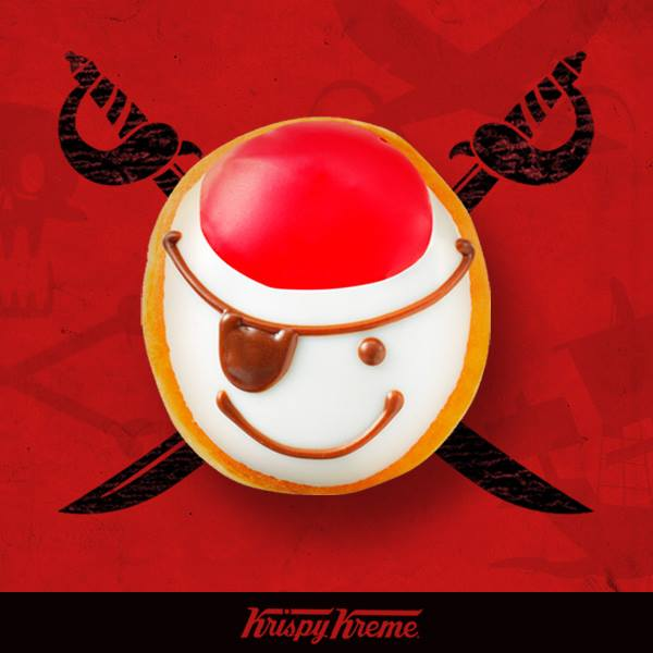 krispy kreme talk like a pirate day 2015
