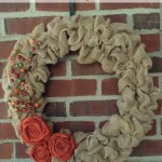 Thumbnail image for Fall Burlap Wreath Idea