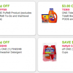 Thumbnail image for New Tide, Finish Febreze, Charmin, Puffs Printable Coupons
