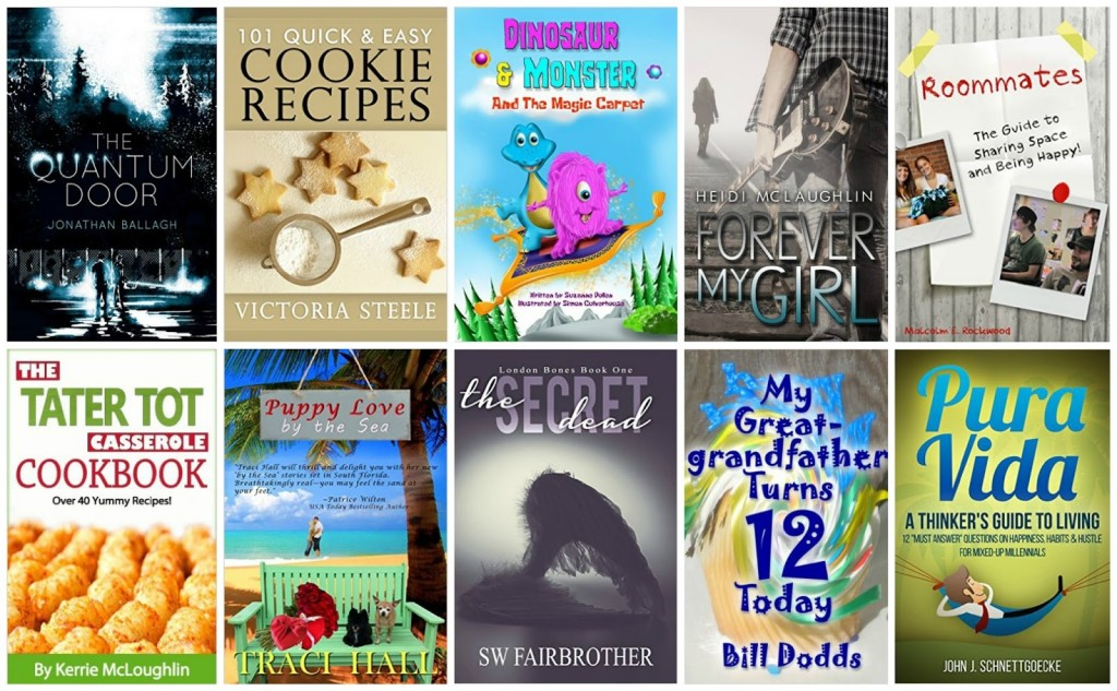 10 Free Kindle Books 10-15-15