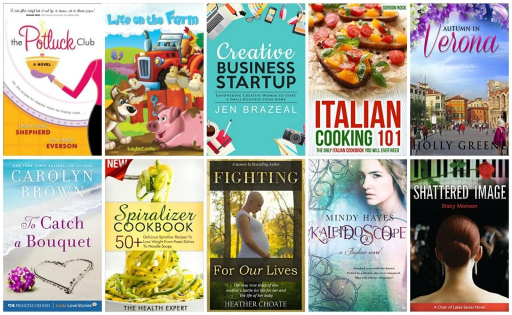 10 Free Kindle Books 10-16-15