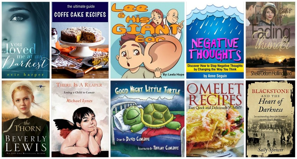 10 Free Kindle Books 10-18-15