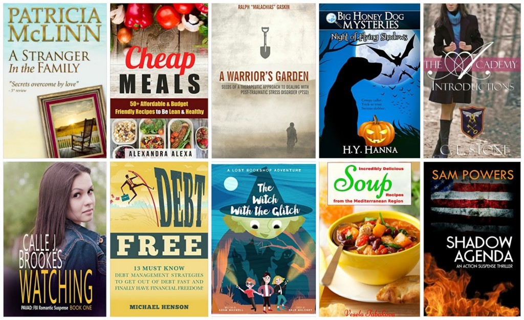 10 Free Kindle Books 10-19-15