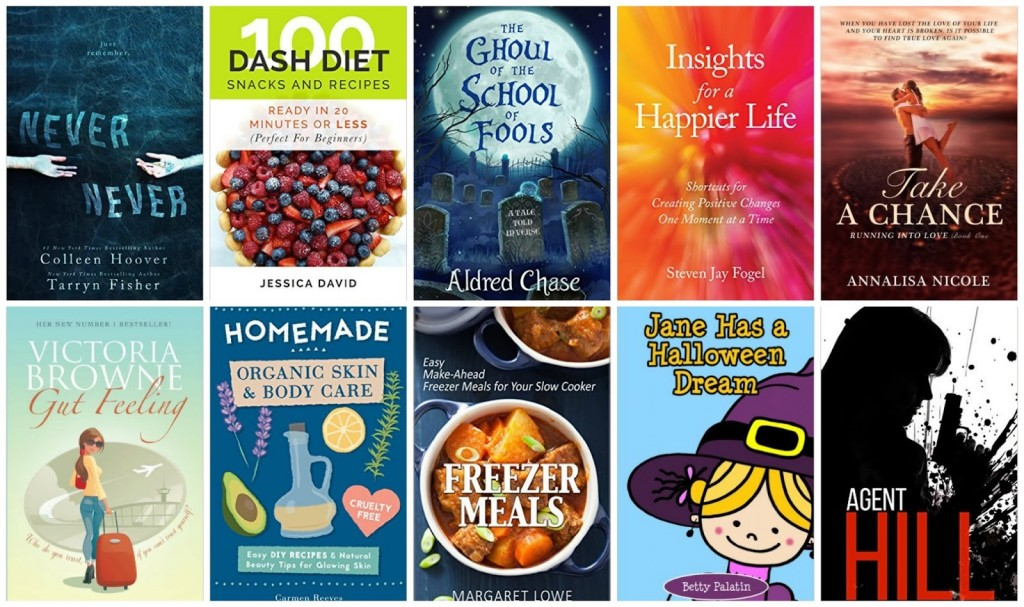 10 Free Kindle Books 10-28-15