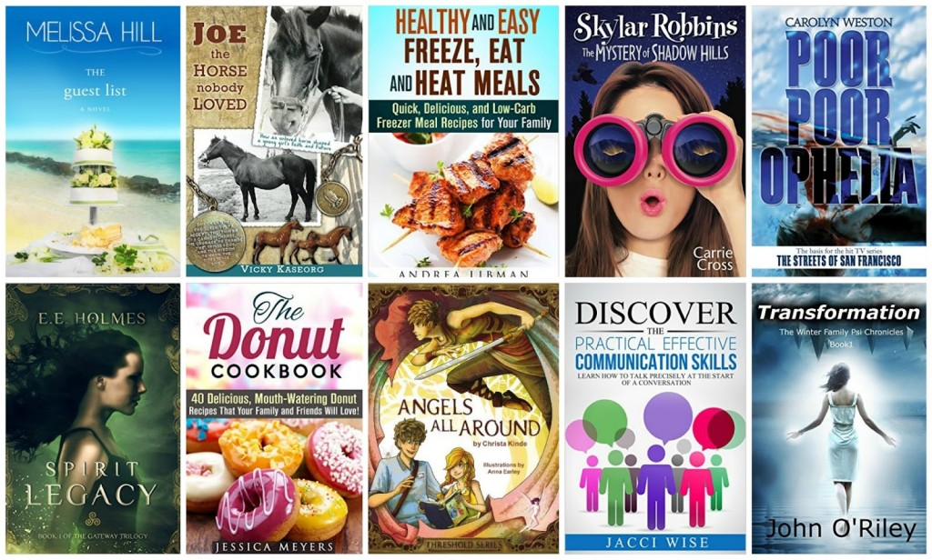10 Free Kindle Books 10-5-15