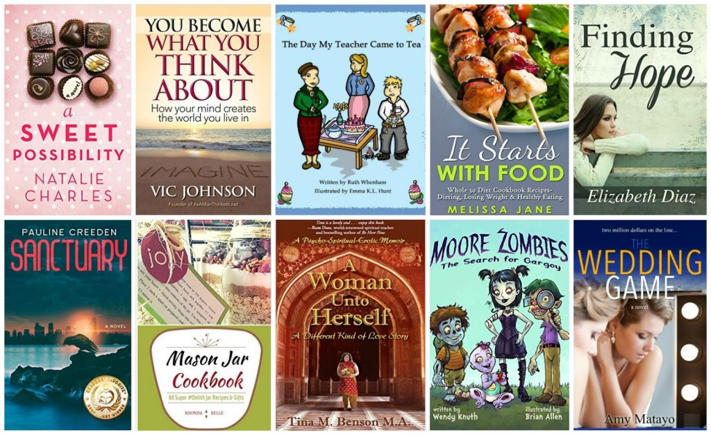10 Free Kindle Books 10-8-15