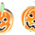 Thumbnail image for Sterling Silver Jack-O-Lantern/Pumpkin Earrings for $14.99