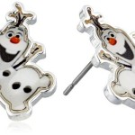 Thumbnail image for Disney Frozen Girls' Olaf Stud Earrings for $12