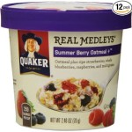 Thumbnail image for Quaker Real Medleys Summer Berry Oatmeal Cups for $1.24 Each Shipped