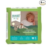 Thumbnail image for Seventh Generation Stage 4 Overnight Diapers for $0.31 Each Shipped