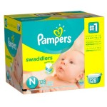 Thumbnail image for Pampers Swaddlers Diapers Giant Pack for $0.21 Each Shipped