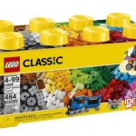 Thumbnail image for LEGO Classic Creative Brick 484 Piece Box Set for $29.99
