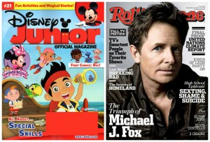 Disney Junior Rolling Stone Magazine Subscription