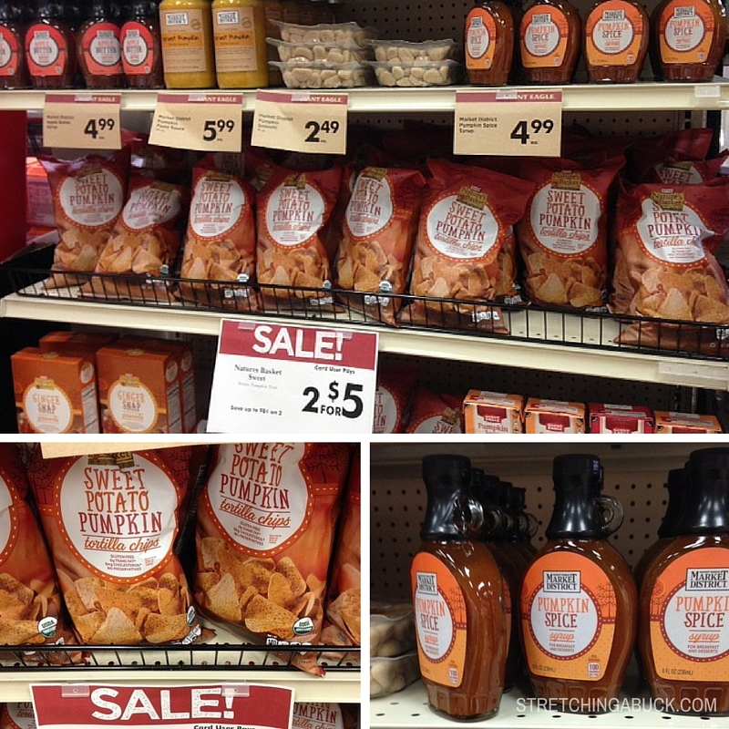 Giant Eagle Market District Fall Products