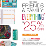 Thumbnail image for Erin Condren Life Planner Sale + 25% Off Everything