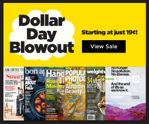 best magazine prices