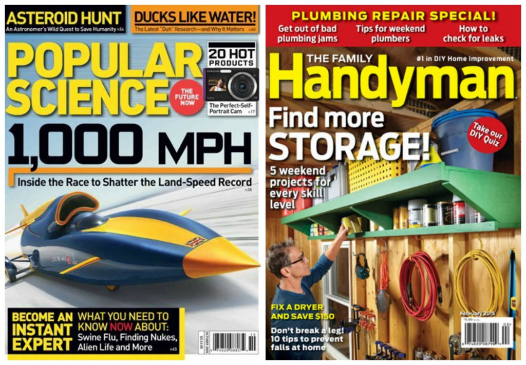 popular science family handyman magazine subscription deals
