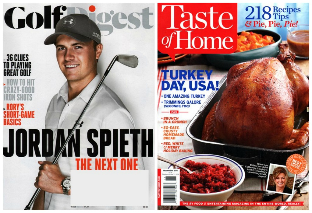 taste of home golf digest magazine subscriptions