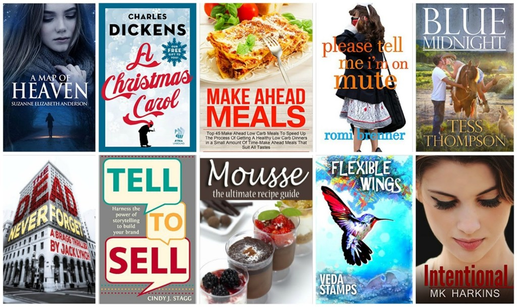 10 Free Kindle Books 11-12-15