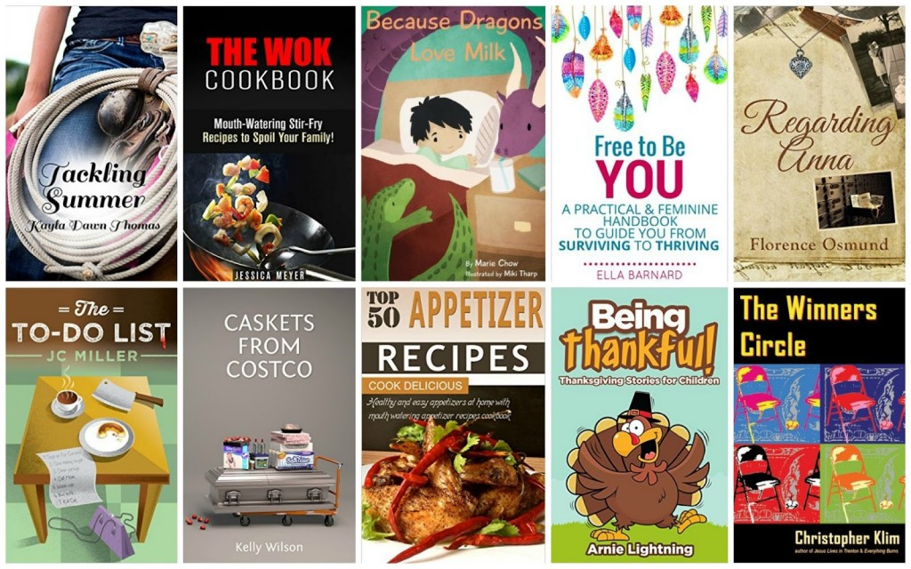10 Free Kindle Books 11-13-15