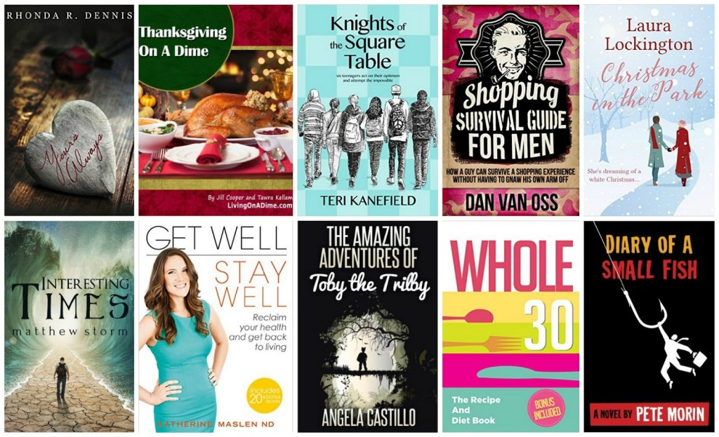 10 Free Kindle Books 11-18-15