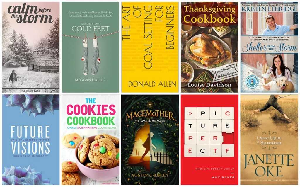 10 Free Kindle Books 11-20-15