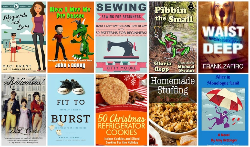 10 Free Kindle Books 11-22-15