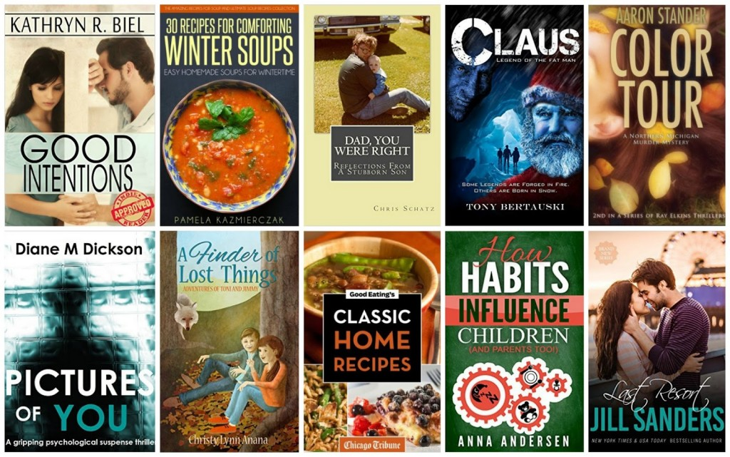 10 Free Kindle Books 11-4-15