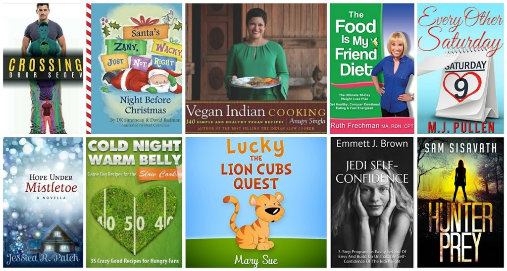 10 Free Kindle Books 11-5-15
