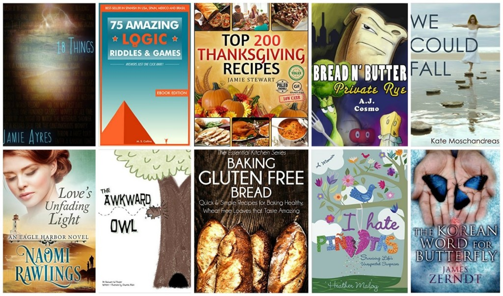 10 Free Kindle Books 11-7-15