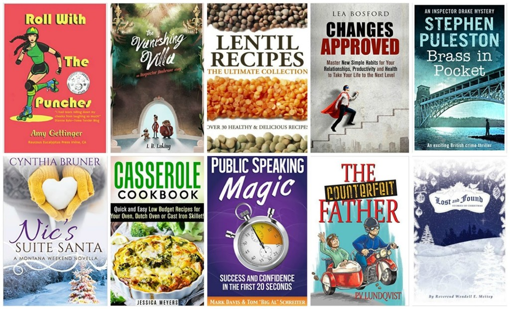 10 Free Kindle Books 11-8-15
