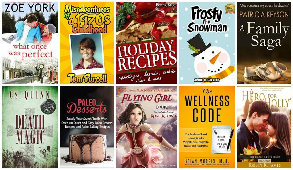 10 Free Kindle Books 11-9-15