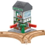 Thumbnail image for Thomas the Train Wooden Railway Christmas Crossings for $20.99