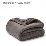 Thumbnail image for Target Threshold Fuzzy Throw for $9.99, Shipped