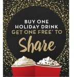 Thumbnail image for Starbucks Buy One, Get One FREE Holiday Drinks! (Nov 12-15, 2015)
