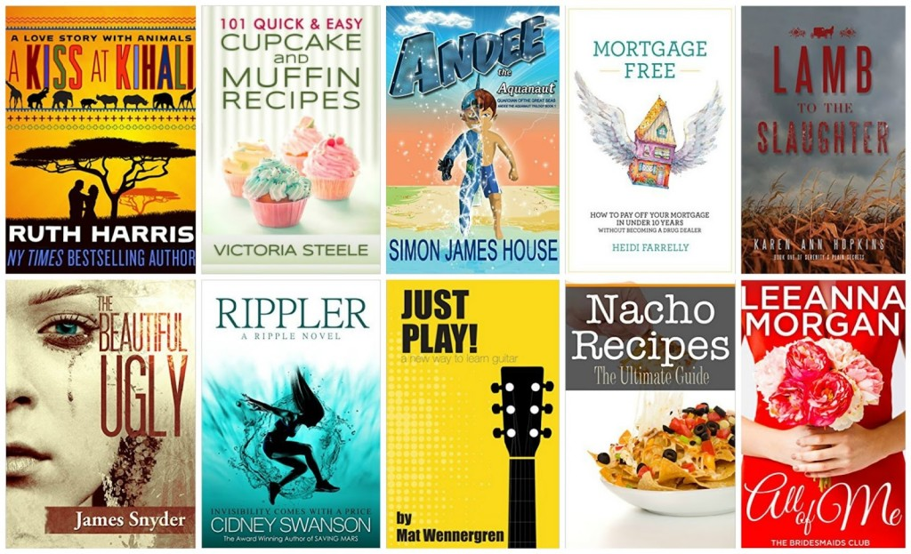 10 Free Kindle Books 12-10-15