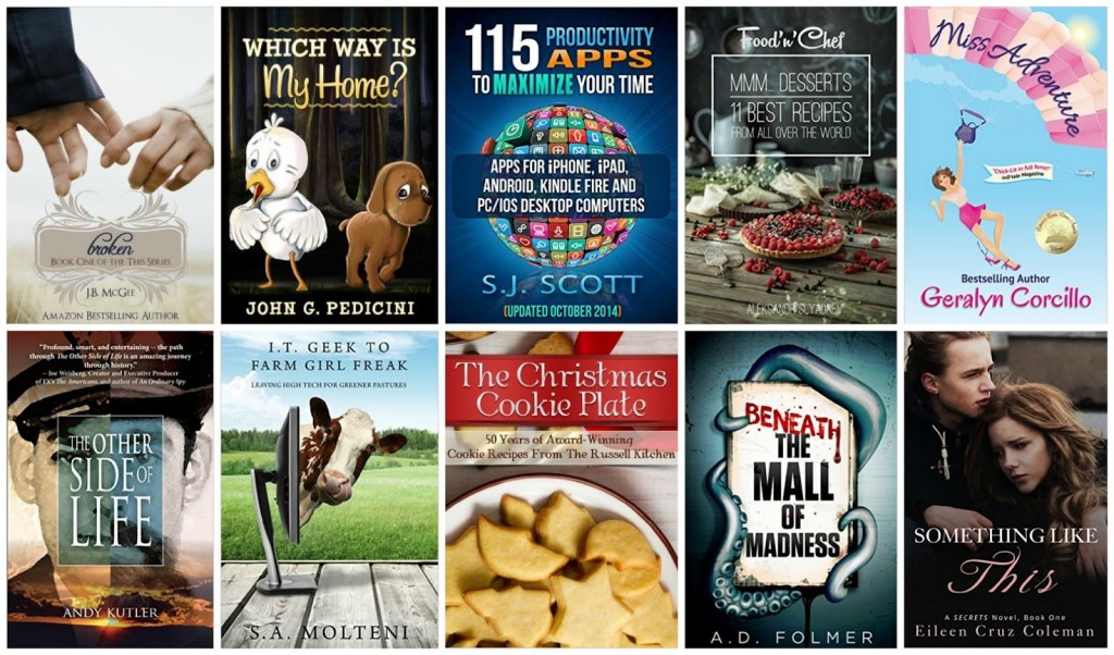 10 Free Kindle Books 12-12-15