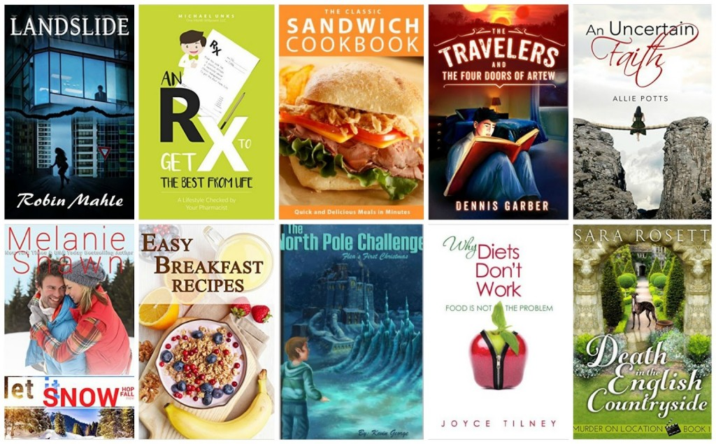 10 Free Kindle Books 12-20-15