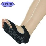 Thumbnail image for Mary Jane Bella with Grips 2-Pack Yoga Socks for $21.99