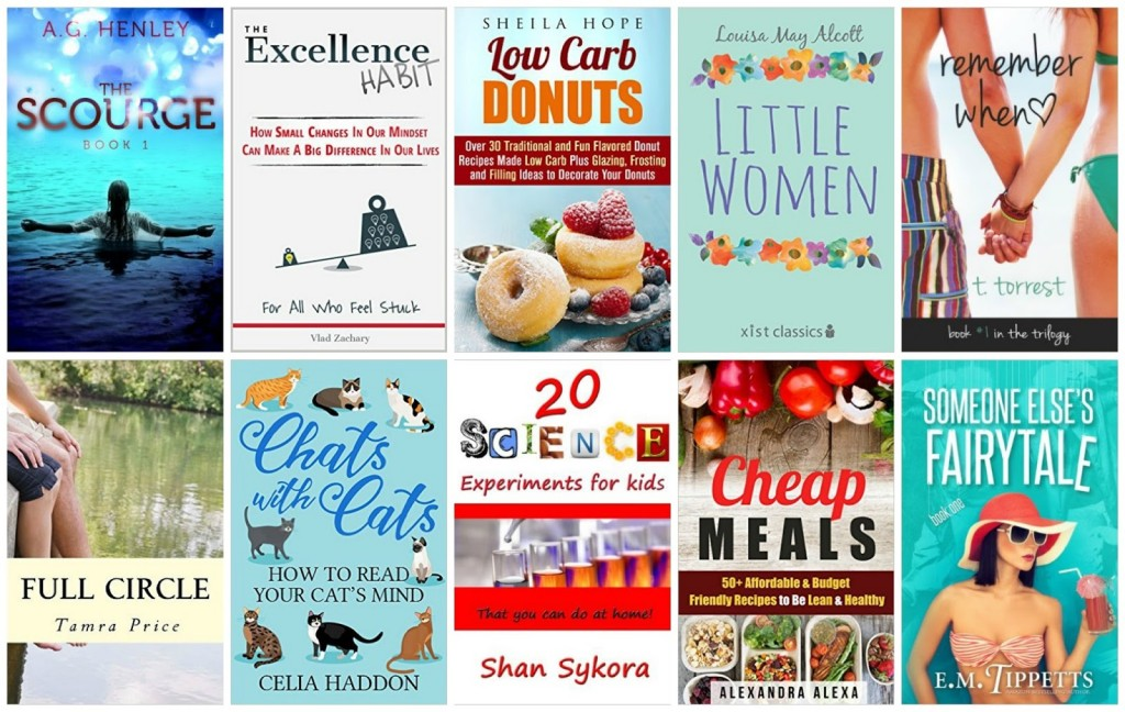 10 Free Kindle Books 1-13-15