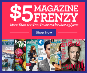 5 dollar magazine subscriptions