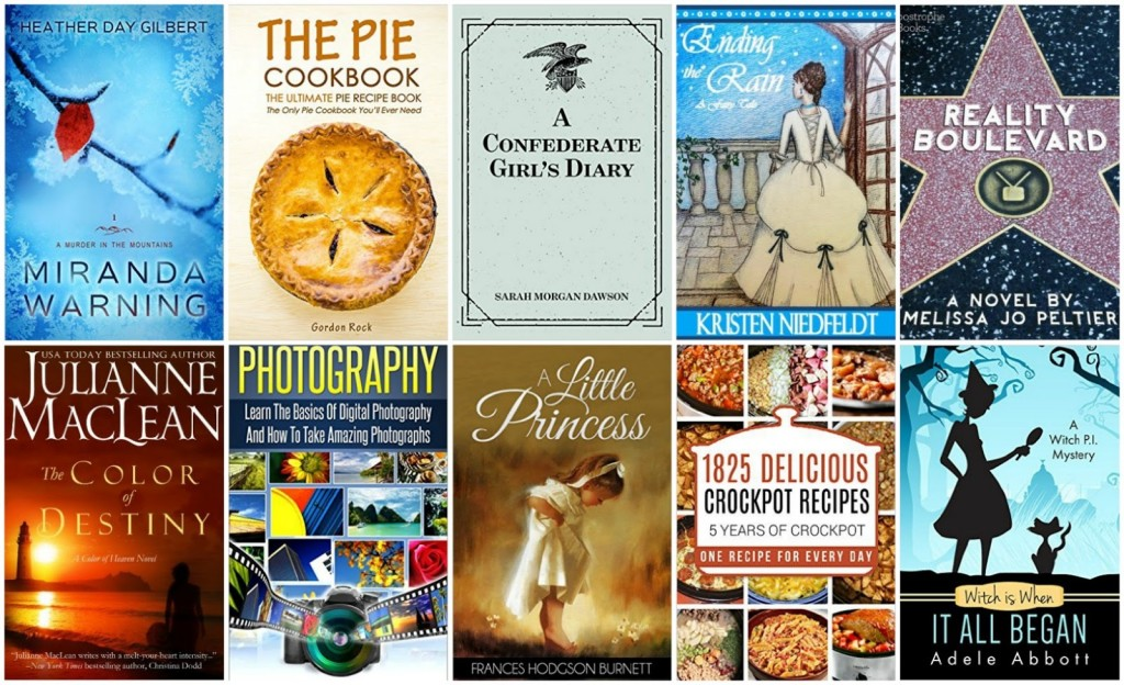 10 Free Kindle Books 2-26-16