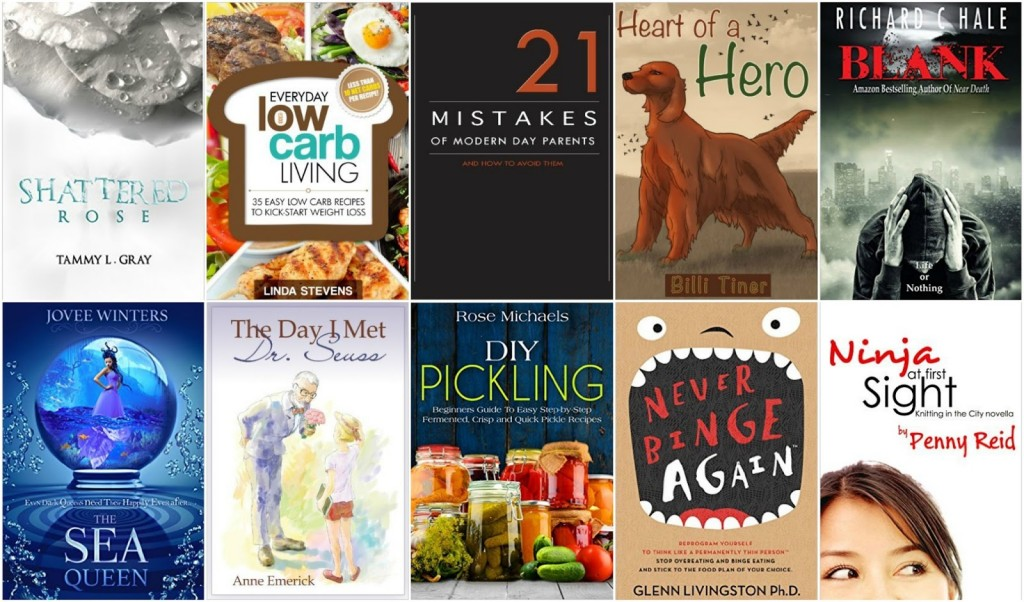 10 Free Kindle Books 2-3-16