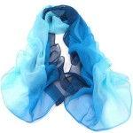 Thumbnail image for Women's Rainbow Chiffon Scarf for $2.97 Shipped