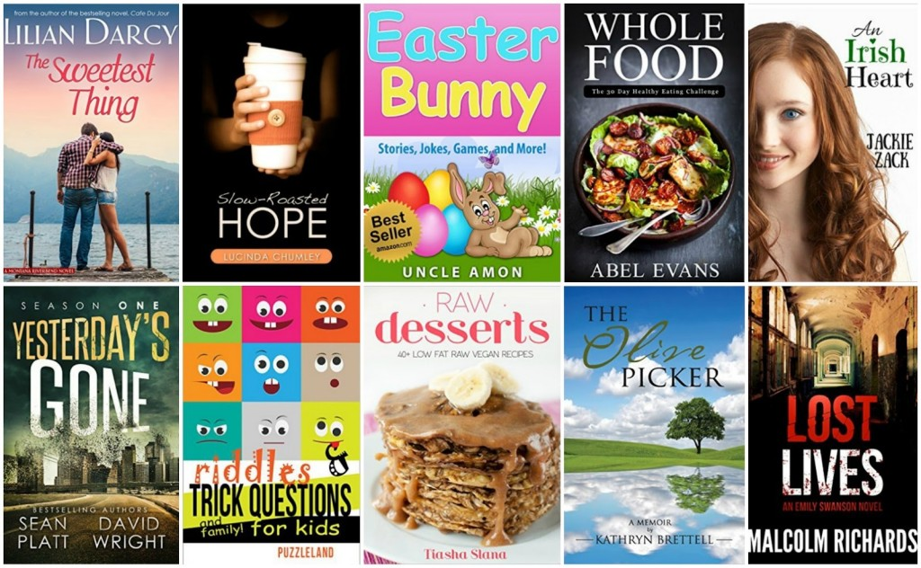10 Free Kindle Books 3-13-16