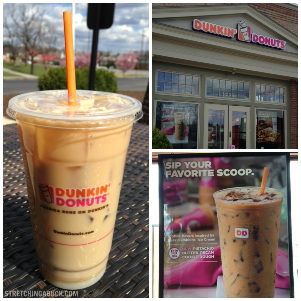 Dunkin' Donuts Pistachio Iced Coffee is Good for My Soul