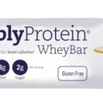 Thumbnail image for SimplyProtein Banana Butterscotch Whey Bars for $1.40 Each Shipped
