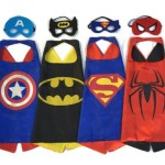 Thumbnail image for Superhero Dress Up Costumes – 4 Capes with Masks for $19.97 Shipped
